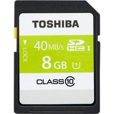 SD Card Class 10 40MB/s (PFS008U-2DCK) - 8 GB