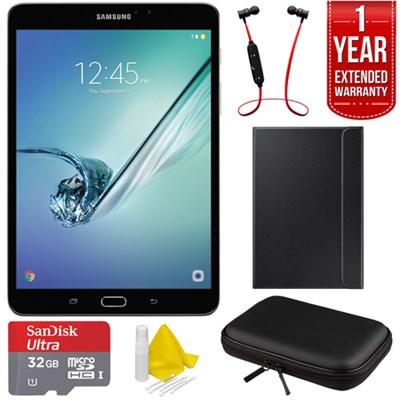 Galaxy Tab S2 8.0-inch Wi-Fi Tablet (Black/32GB) w/ Warranty Bundle