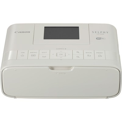 Selphy CP1200 Wireless Compact White Photo Printer