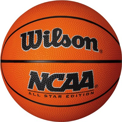 NCAA Mini Rubber Basketball