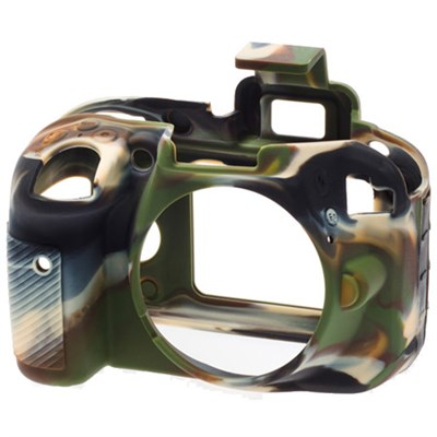 Nikon D3300/D3400 Protective Silicone Case for Your DSLR Camo