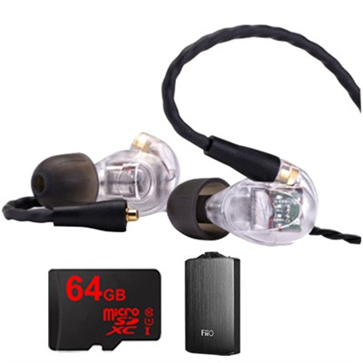 UM Pro 50 In-Ear High Performance Headphones - 78517 w/ FiiO A3 Amp Bundle