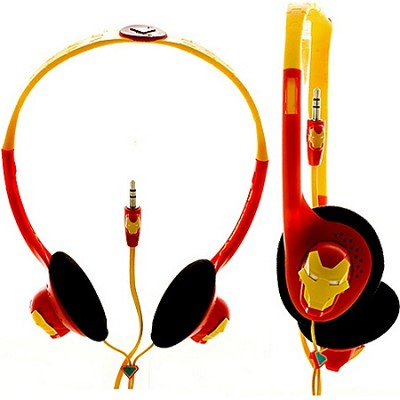 Marvel Comics Headphones - Iron Man