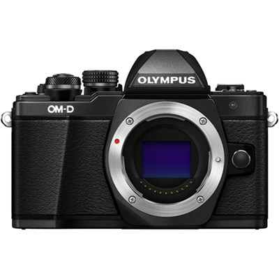 OM-D E-M10 Mark II Mirrorless Micro Four Thirds Digital Camera Body Only (Black)