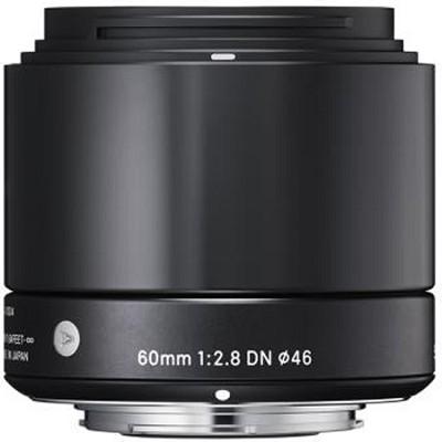 60mm F2.8 EX DN ART Lens for Micro Four Thirds (Black)