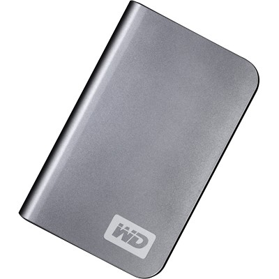 My Passport Elite Portable 320GB  External Hard Drive - Titanium { WDML3200TN }