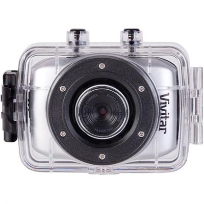HD Action Waterproof Camera / Camcorder - Silver DVR781HD-SIL