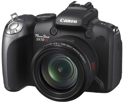 Powershot SX10 IS 10MP Digital Camera