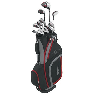 Men's Profile XLS Complete Package Golf Set, Right Hand, Red