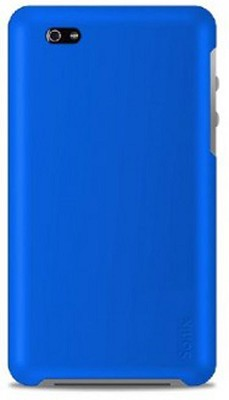 Snap Slim Case for iPhone 4 with 2 Screen Protectors (Blue)