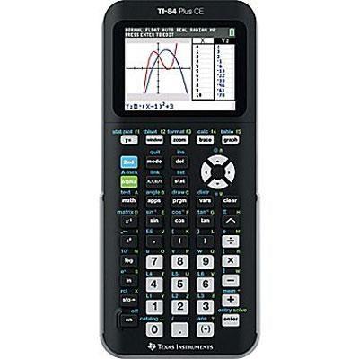 Plus CE Graphing Calculator in Black - 84PLCE/TBL/1L1