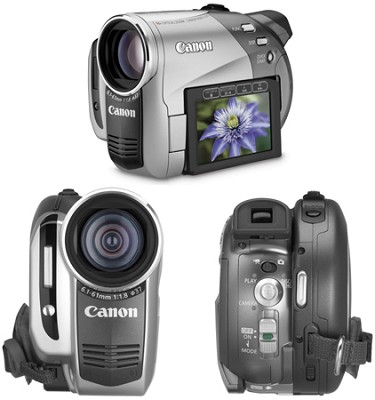 DC-50 Super Slim DVD Camcorder With 10x Optical Zoom - OPEN BOX