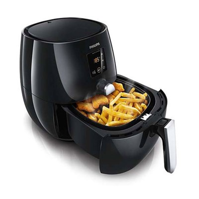 Digital AirFryer with Rapid Air Technology, Black (Certified Refurbished)
