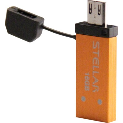 Stellar 16GB USB/Micro USB Flash Drive