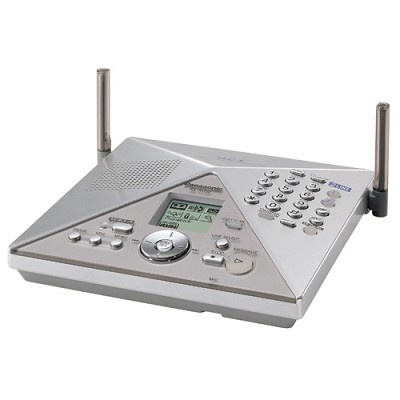 KX-TH102-C 2-Line Digital Expandable Cordless System w/ Cellular & Video Capabil