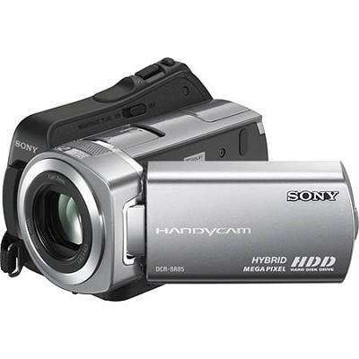 DCR-SR85 - 60-gigabyte Hybrid Hard Drive / Memory Stick Camcorder - OPEN BOX