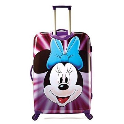 67613-4756 28` Hardside Spinner - Minnie Mouse Face - OPEN BOX