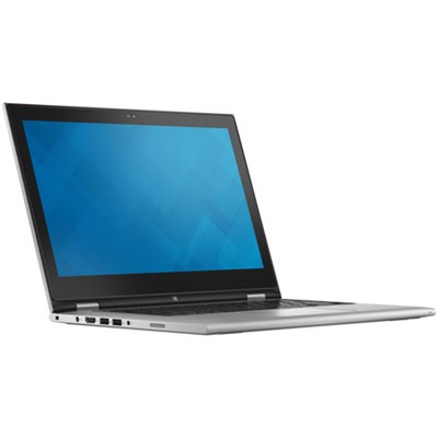 Inspiron 13 7000 Series 6th Gen Intel Core i3-6100U 13.3` Notebook - Red
