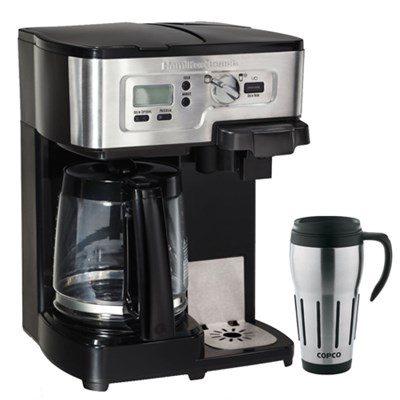 2-Way FlexBrew 12-Cup Coffeemaker + Copco Travel Mug