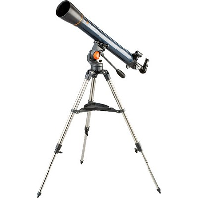 AstroMaster - 90 AZ 90mm 3.5`/90mm Refractor Telescope Kit- OPEN BOX