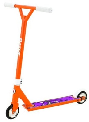 Pro El Dorado Deluxe Push/Kick Scooter - Orange