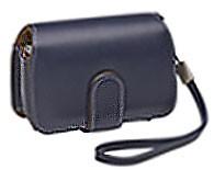 Premium Slim Leather Case (Navy)