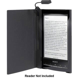 Cover with Light for eReader (PRS-T1) - Black   * OPEN BOX *