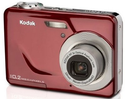 EasyShare C180 10.2 MP 3x Zoom 2.4` LCD Digital Camera (Red)