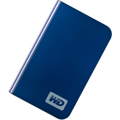 My Passport Essential Portable 500GB `Blue` External Hard Drive (WDMEB5000TN
