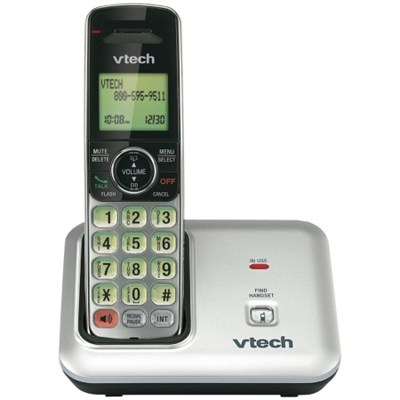 Digital Cordless Phone Dect 6.0 - Silver - OPEN BOX