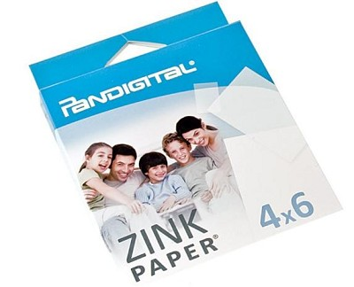 Paper for Zero Ink Printer - 10 Sheet Pack