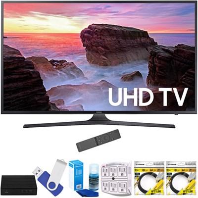 65` 4K Ultra HD Smart LED TV 2017 Model  with Terk Tuner Bundle