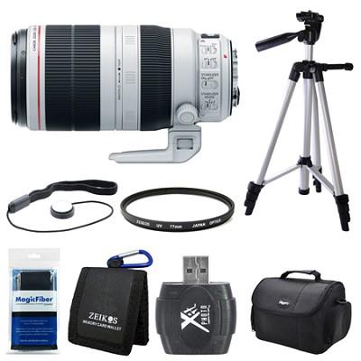 EF 100-400mm f/4.5-5.6L IS II USM Lens (9524B002) Bundle