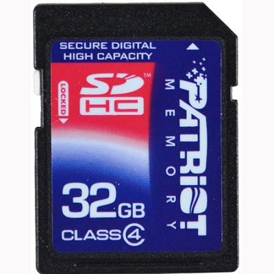 32 GB SDHC Class 4 Signature Flash memory card (PSF32GSDHC4)