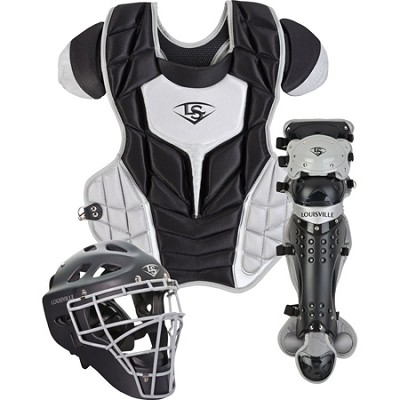Adult PG Series 7 Catchers Set - Black/Gray
