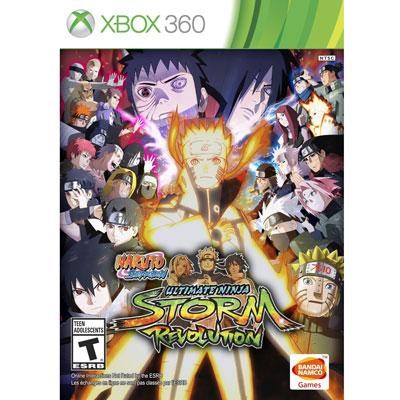 N S Ultimate Ninja Storm  X360