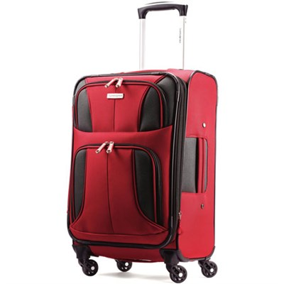Aspire XLite 20-Inch Expandable Spinner Luggage (Red) 74569-1726
