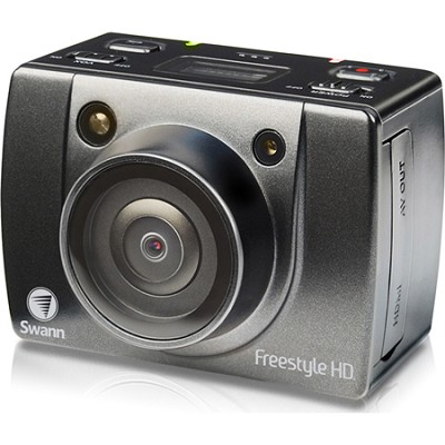 Freestyle HD Wearable Action Video Camera with LCD Viewer