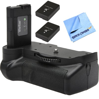 Deluxe Power Battery Grip for Nikon D5500 Camera w/ Battery Pack