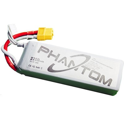 Phantom Aerial UAV Drone Quadcopter Replacement Battery P330 Part No. 12