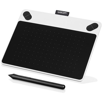 Intuos Draw Creative Pen Tablet - Small White (CTL490DW)