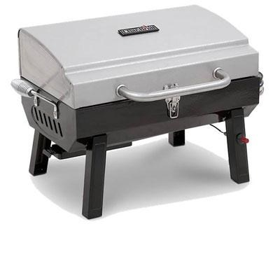 Stainless Steel Portable Gas Grill - 465640214