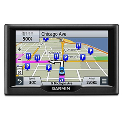 nuvi 57LM 5` GPS Navigator w/ Lifetime Maps (Refurbished 1 Year Garmin warranty)