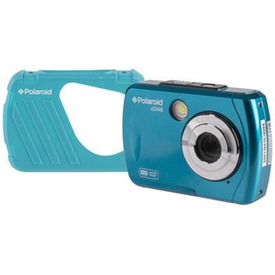 IS048-TEAL-WM 16MP Waterproof Digital Camera w/ 4x Zoom + 2.4` Screen