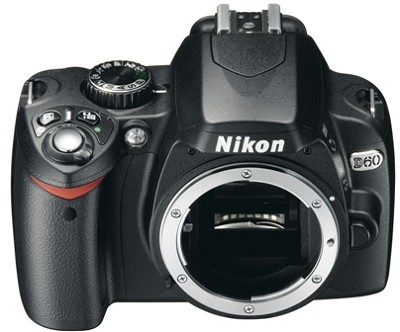 D60 Digital SLR Camera (Body Only) with Free 4GB Memory Card