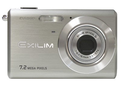 EX-Z70 7MP with 3X Optical Zoom and Anit-Shake 2.5` LCD Display (Silver)