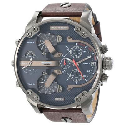 DZ7314 The Daddies Series Analog Display Analog Quartz Brown Watch