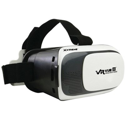 VR Vue II Virtual Reality Viewer for 3.5`-6` iPhones & Androids (XSX5-1008-BLK)