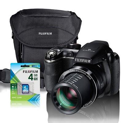 FinePix S4400 Digital Camera 28X ZOOM Gift Bundle