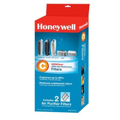 2-Pack Honeywell True HEPA Replacement Filter - HRF-C2